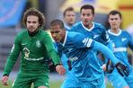 «Зенит» не смог обыграть «Томь» в 20-м туре чемпионата России по футболу