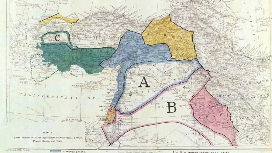 Как Антанта недоделила Турцию