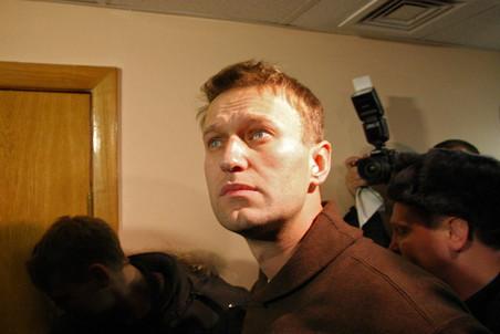 Алексей Навальный в Тверском суде