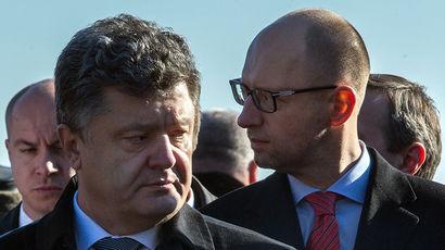 Poroshenko tên các ứng cử viên cho chức thủ tướng, và một nghị định về việc từ chức của Tổng thống Saakashvili đã biến một giả