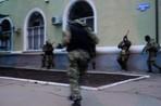 Видео захвата отдела милиции в Краматорске