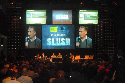 Стартапы Сколково были представлены на форуме Slush