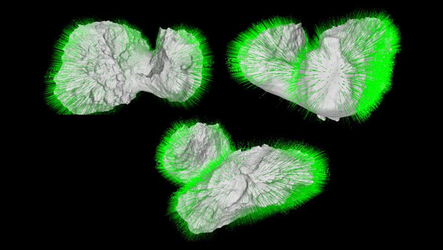 Ученые доказали, что комета Чурюмова-Герасименко слиплась из двух
