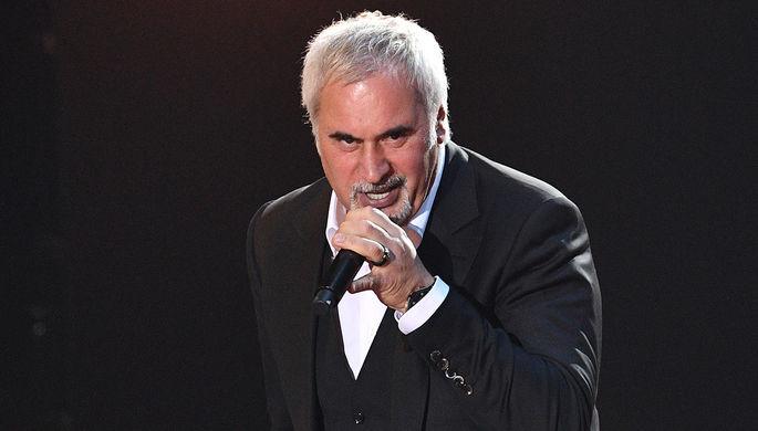 Певец Валерий Меладзе на XV юбилейной национальной телевизионной премии в области популярной музыки