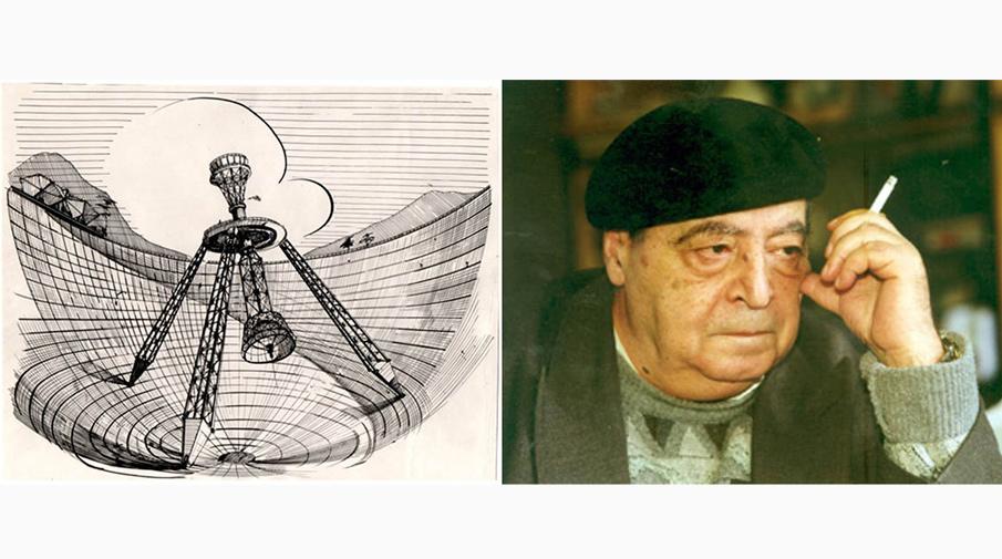 Парис Геруни и его зеркальный телескоп