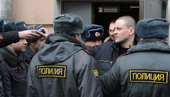 Сергей Удальцов получил 5 суток заучастие вакции «Антикапитализм»