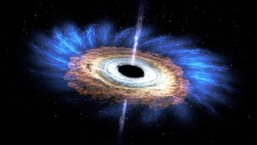 Найдена самая далекая колоссальная черная дыра во Вселенной