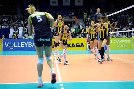 Казанское Динамо проиграло турецкому в полуфинале женской Лиги чемпионов