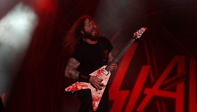Группа Slayer объявила ораспаде