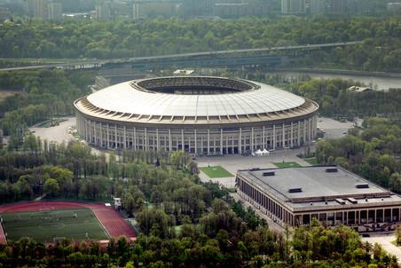 Территория стадиона «Лужники»