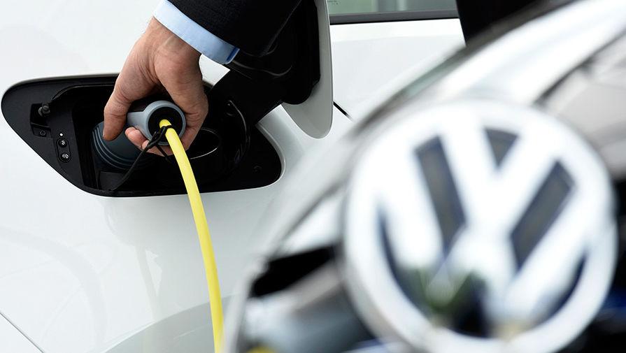 Volkswagen тянется к розетке