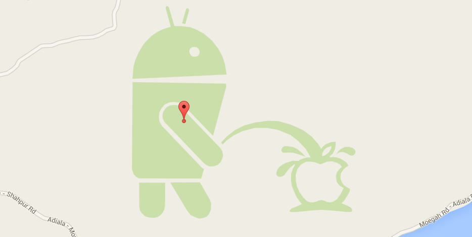 Этот «географический объект» был добавлен на Google Maps пользователями.