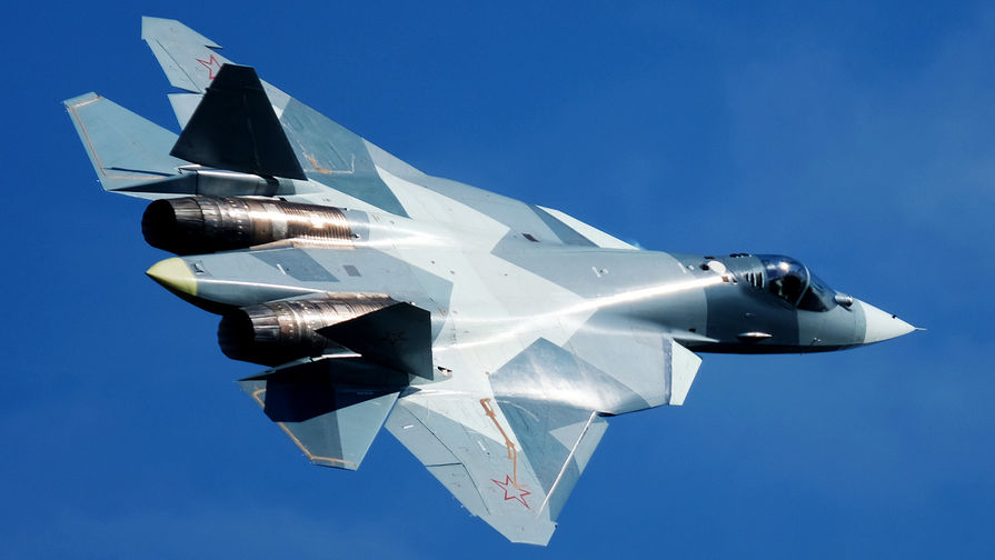 Видео с пилотажем Су-57 появилось в Сети