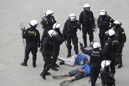 Во время беспорядков были задержаны 190 человек
