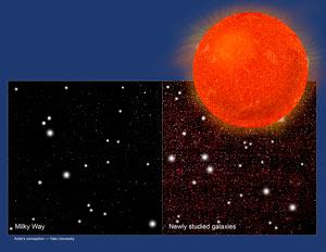 Во Вселенной существует в три раза больше звезд, чем считалось ранее