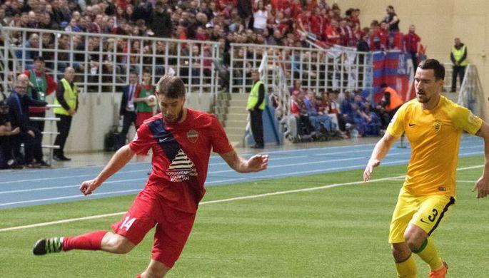 Футболисты «Енисея» впервый раз вистории вышли вПремьер-лигу