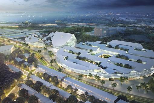 Так будет выглядеть город Сколково через несколько лет