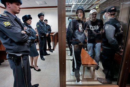 Moscow court convicts skinheads in murder case — Gazeta.Ru
