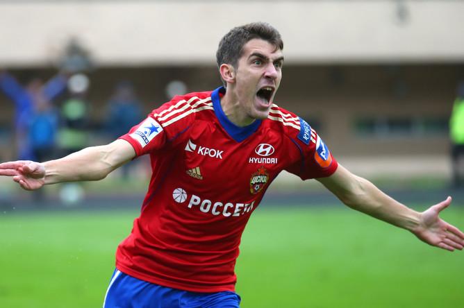 Нападающий ЦСКА перейдет вчешский клуб