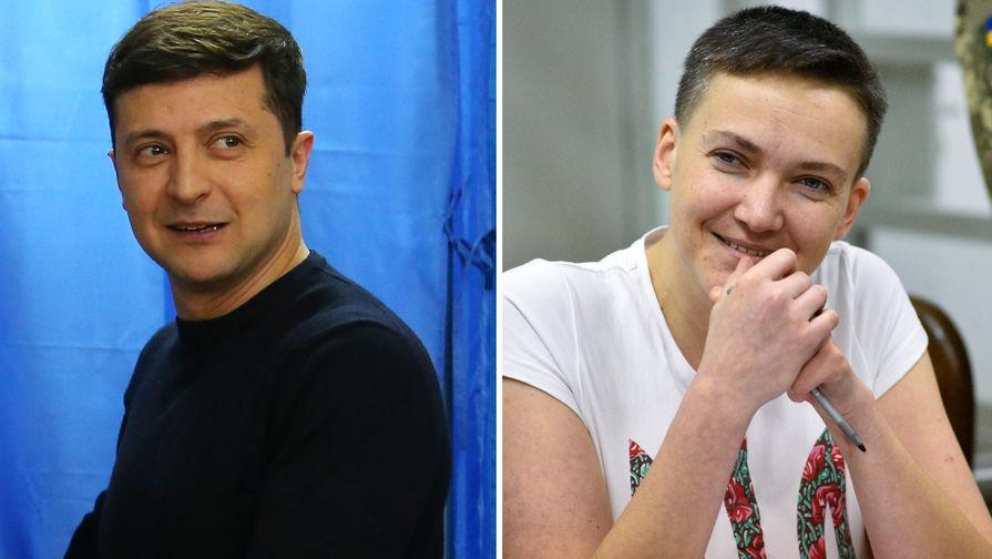 «Чудо-сказка»: Савченко приписала победу Зеленского себе