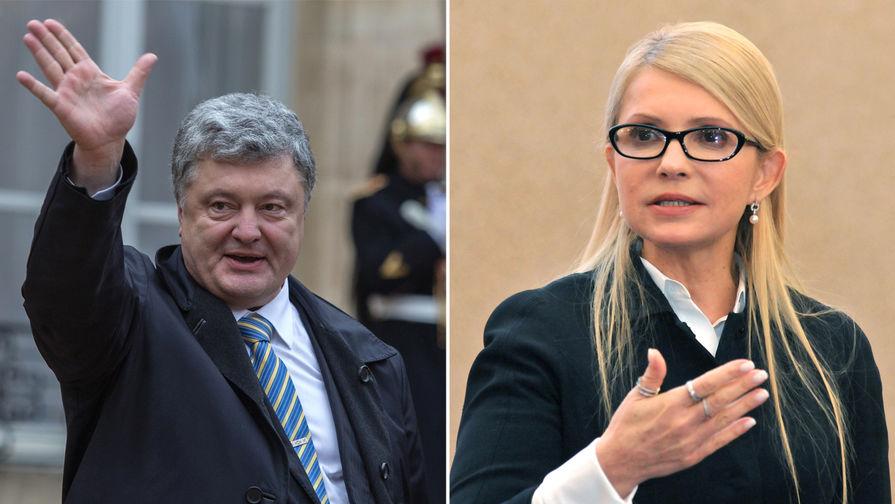 Выборы на Украине: Порошенко обогнал Тимошенко
