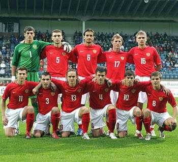 Молодежная сборная России разгромила сверстников из Украины.