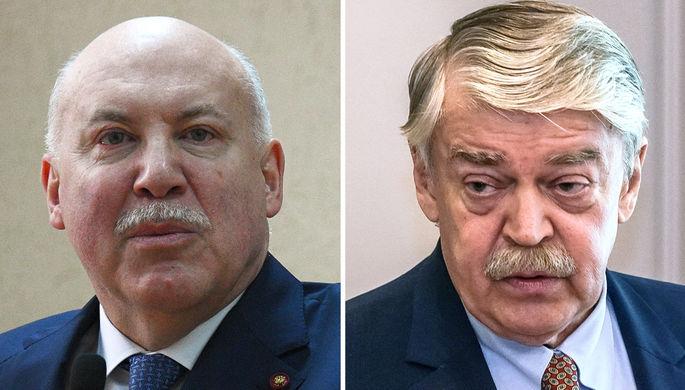 Дмитрий Мезенцев и Евгений Лукьянов