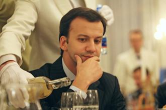 Начальник Экспертного управления президента РФ Аркадий Дворкович на церемонии вручения наград Национальной банковской премии — 2006