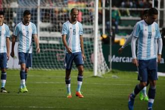 Сборная Аргентины по футболу рискует не попасть на чемпионат мира по футболу в Россию