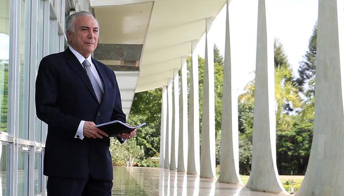 Президент Бразилии Мишел Темер