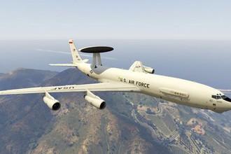 Потеря ВВС: летающий радар США загорелся в воздухе