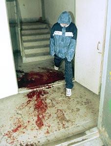 ...квартиры, когда убийца дважды выстрелил ему в голову.  ФОТО: ИТАР-ТАСС.