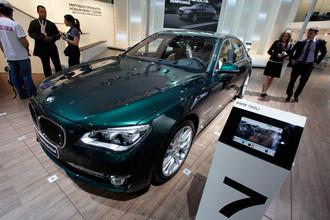 Баварская компания привезла в Москву доработанную версию BMW 7 серии