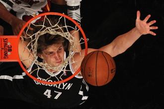 Форвард «Бруклина» Андрей Кириленко помог своей команде одолеть «Нью-Йорк»