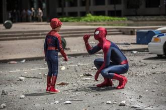 Кадр из фильма «Новый Человек-паук: Высокое напряжение»