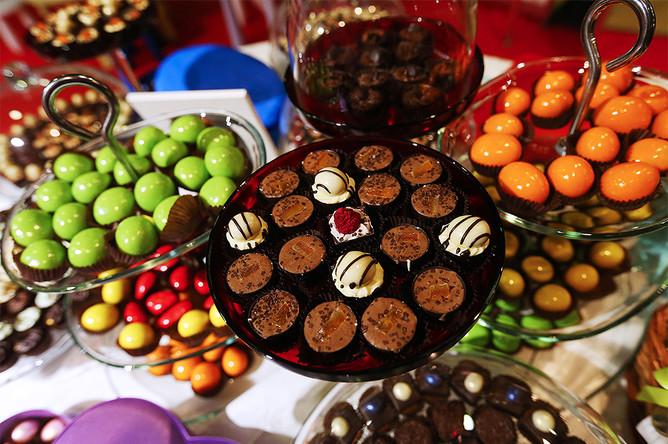 Более половины экспорта российских кондитерских изделий приходится на продукцию из шоколада. Крупнейшими странами — импортерами российского шоколада являются страны СНГ и Монголия