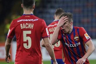 «Ахмат» одолел ЦСКА в матче восьмого тура РФПЛ после ошибки Виктора Васина