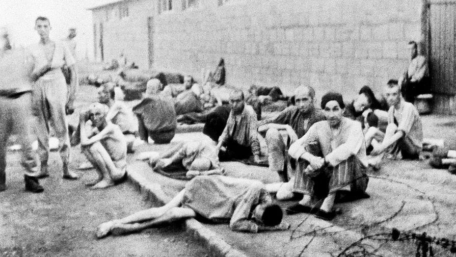 Узники немецкого концлагеря Маутхаузен