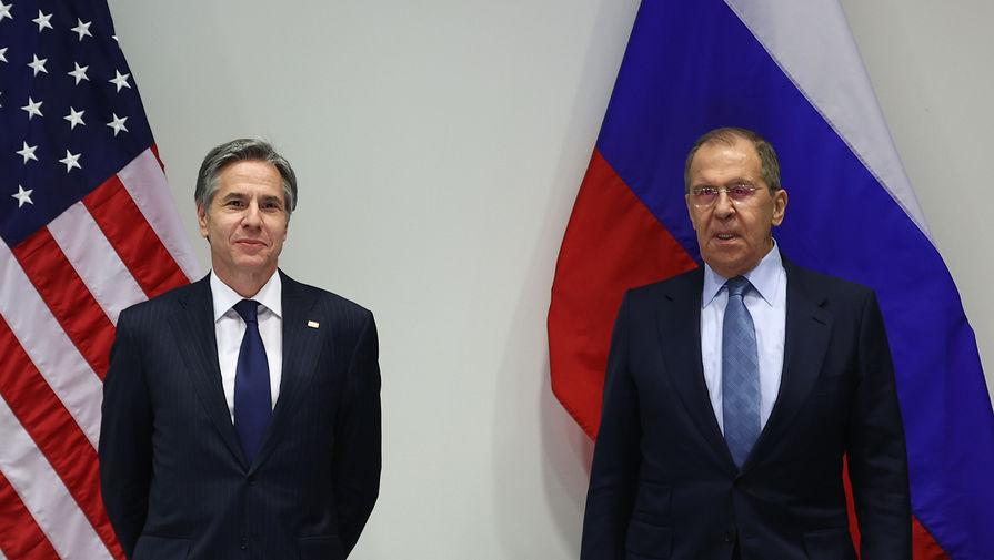 Лавров и Блинкен не встретятся на сессии ГА ООН