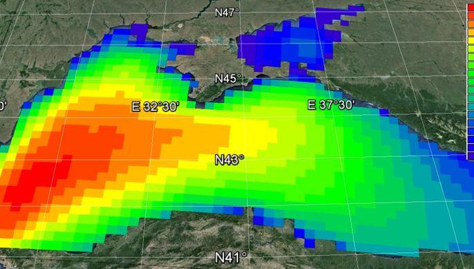 НаЧерном море запоследние 37 лет стало больше штормов
