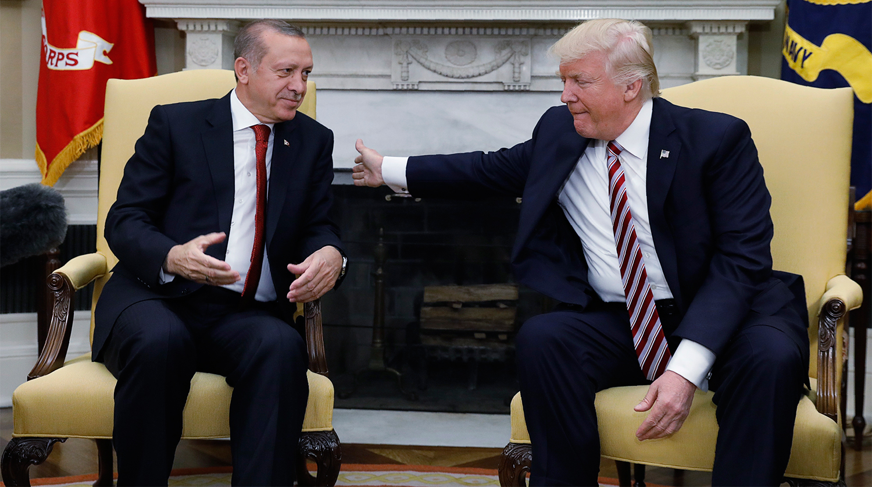 Трамп и Эрдоган договорились о встрече в Японии