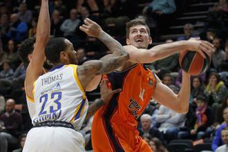 «Химки» уступили «Валенсии» в матче баскетбольной Евролиги