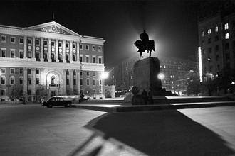 Советская площадь в Москве, 1973 год