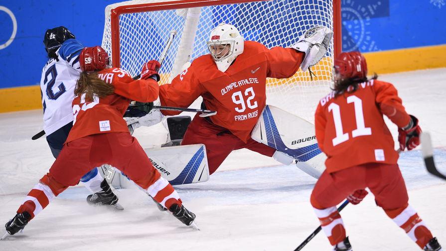 Россия крупно проиграла Финляндии на чемпионате мира по хоккею