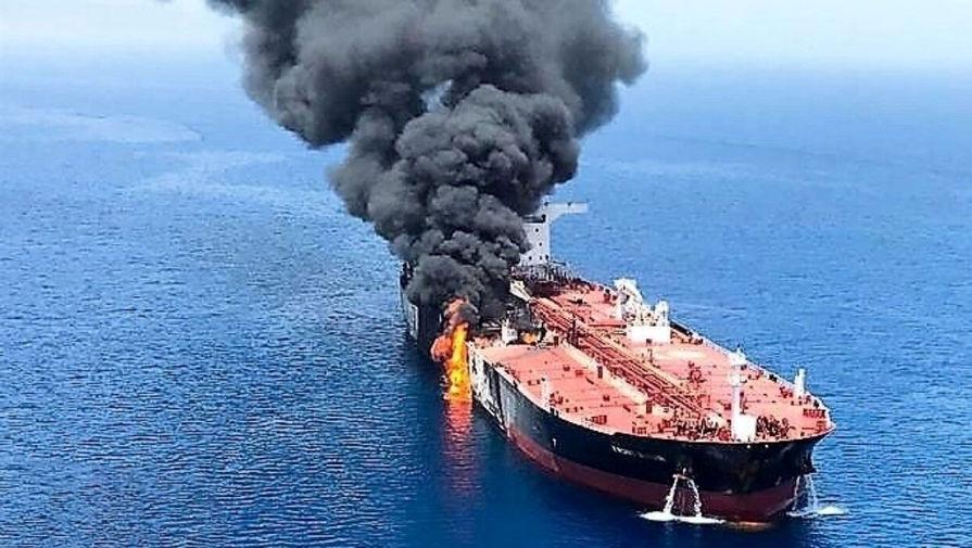 СМИ опубликовали переговоры экипажа взорвавшегося российского танкера