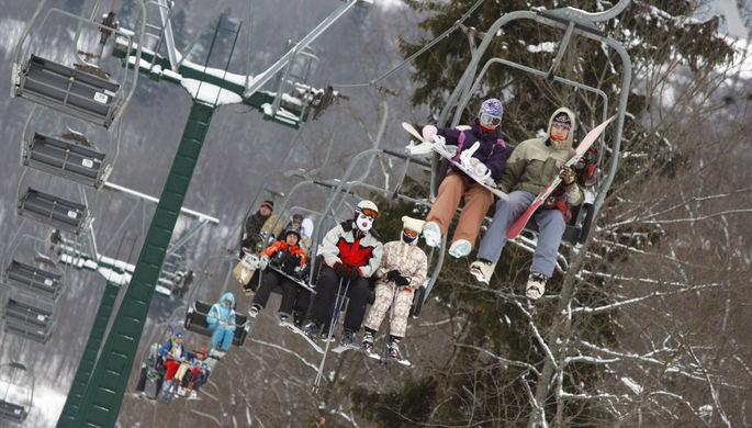 Лыжи не едут: курорты разоряются из-за аномального тепла