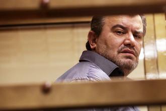 Георгий Мартиросян, приговоренный к 23 годам колонии строгого режима за убийство трех моделей, во время оглашения приговора в Мосгорсуде