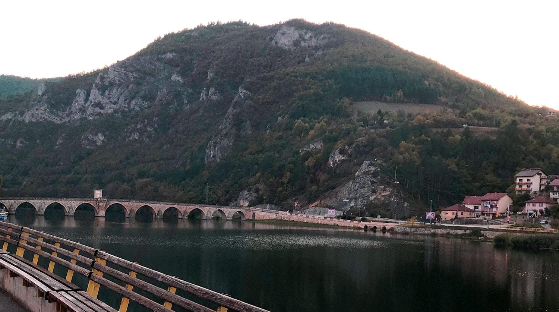 Вишеградский мост, Вишеград