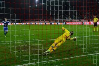 Россиянин Антон Митрюшкин отбил два пенальти в матче Кубка Швейцарии
