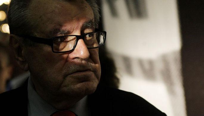 Режиссер Милош Форман на 44-м международном кинофестивале в Карловых Варах, 3 июля 2009 года